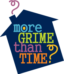 More Grime Than Time Logo